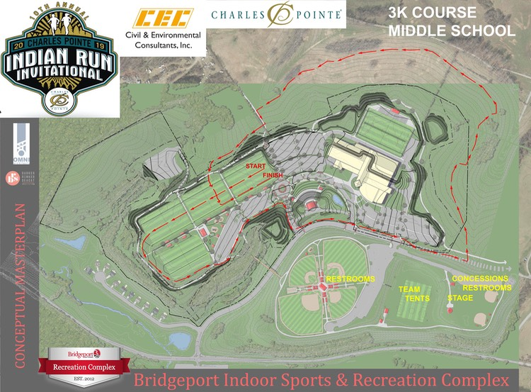 3K Charles Pointe Indian Run XC MAP-2019