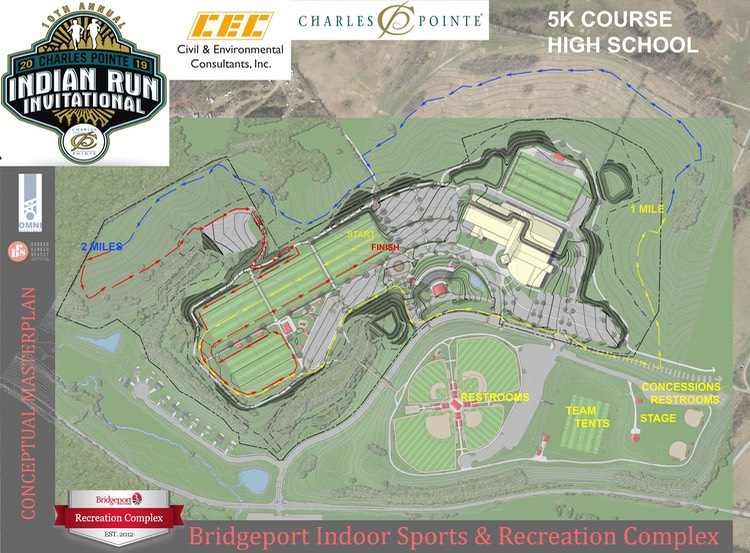 5K Charles Pointe Indian Run XC MAP-2019 A