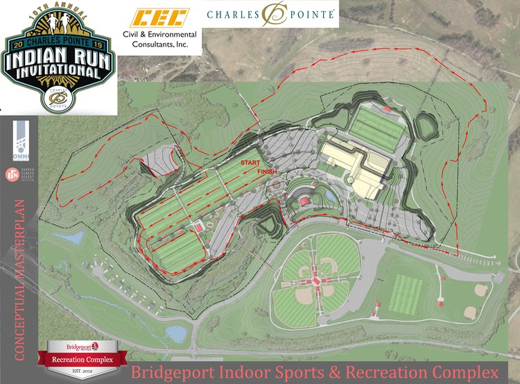 5K Charles Pointe Indian Run XC MAP-2019