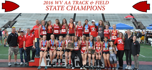 GIRLS T&F State Championships 2016